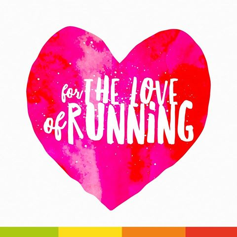 For the love of running heart