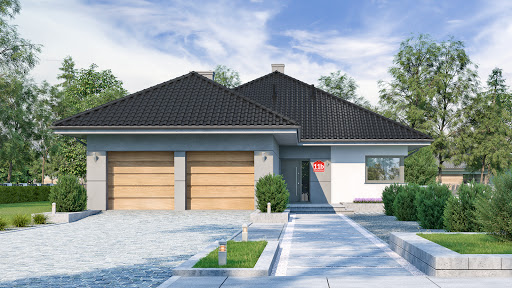 projekt Dom przy Pastelowej 11 bis