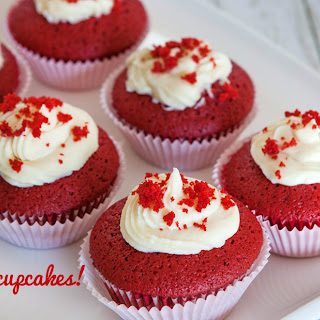 Gluten-Free Red Velvet Cupcakes With Goat Cheese Icing