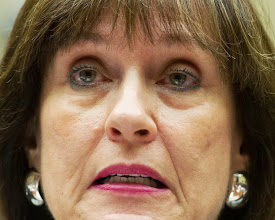"""Photo: Internal Revenue Service Director of Exempt Organizations Lois Lerner during testimony to the House Oversight and Government Reform Committee May 22, 2013 in Washington, DC. The committee is investigating allegations that the IRS targeted conservative non-profit organizations with the words """"tea party"""" and """"constitution"""" in their names for additional scrutiny. Lerner, who headed the division that oversees exempt organizations, plans to assert her constitutional right not to answer questions. AFP  PHOTO / Karen BLEIER        (Photo credit should read KAREN BLEIER/AFP/Getty Images)"""