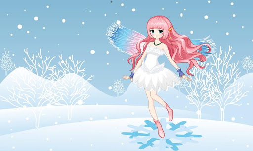 Beautiful winter snow fairy android2mod screenshots 1