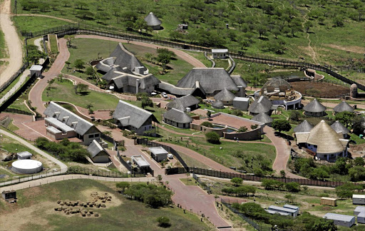 President Jacob Zuma's private home at Nkandla. File photo.
