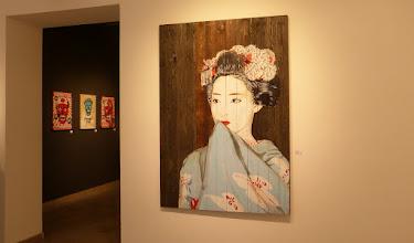Photo: Galerie 30Works; Sushi Connection; Solo Show MITTENIMWALD; Geisha Meiko