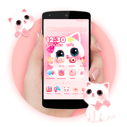 Cartoon Theme - Cute Kitty file APK for Gaming PC/PS3/PS4 Smart TV