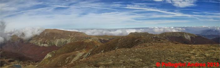 Photo: Panorama 7 dal Cusna al Ravino dalla cima del Prado