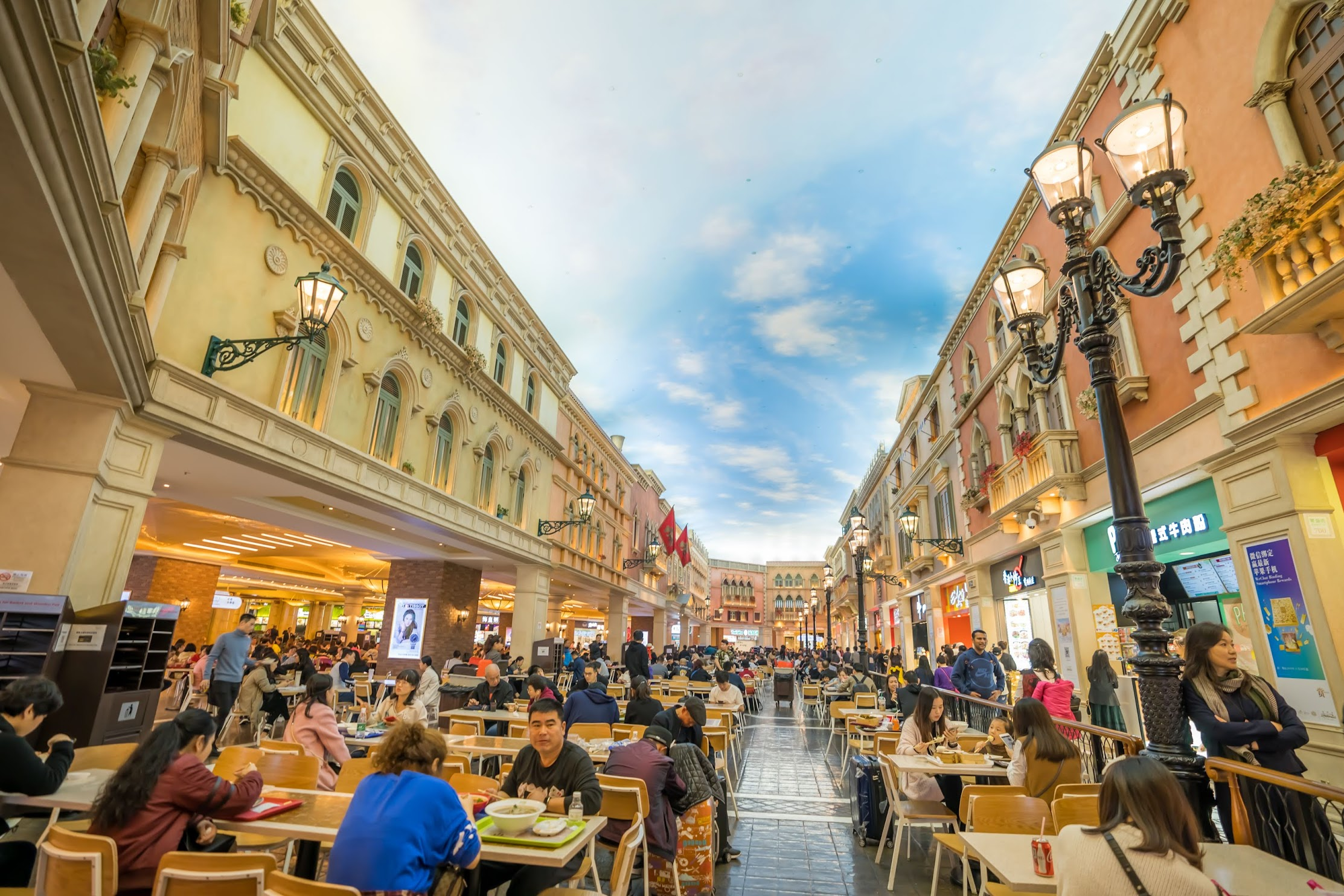 Venetian Macao food court1
