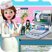 Hospital Cash Register Cashier Games For Girls