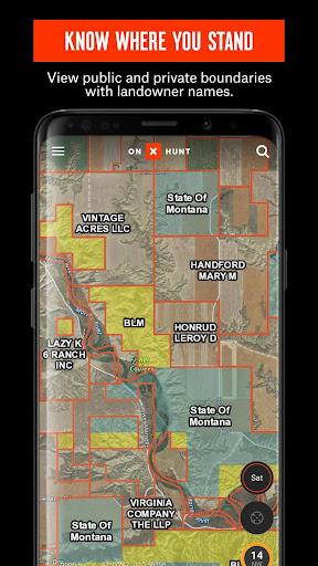 onX Hunt #1 Hunting Maps & Offline GPS Navigation screenshot