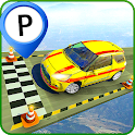 Crazy Ramp Car Stunts Parking:Impossible Tracks icon