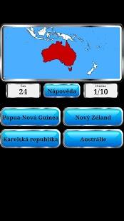 Světová Geografie - Hra - náhled