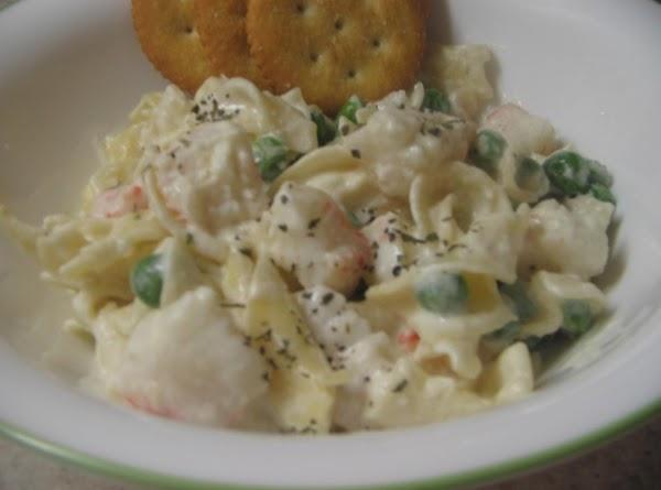 Alfredo Crab Pasta Casserole Recipe