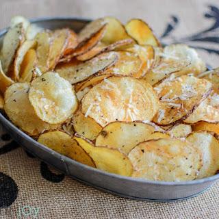 Garlic Parmesan Kettle Chips.