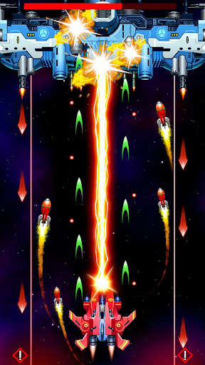 Strike Galaxy Attack: Alien Space Chicken Shooter  captures d'écran 1