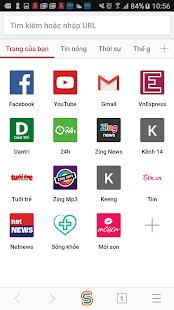 SFive Browser - náhled