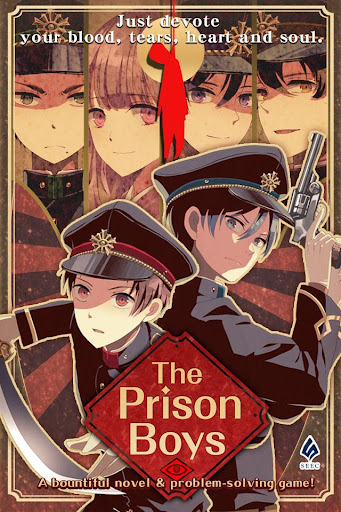 The Prison Boys [ Mystery novel and Escape Game ] apklade screenshots 1