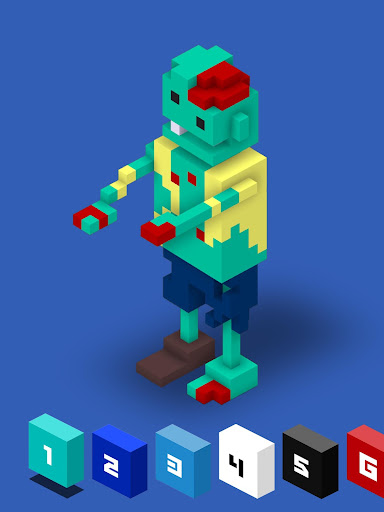 3D Color by Number with Voxels for PC