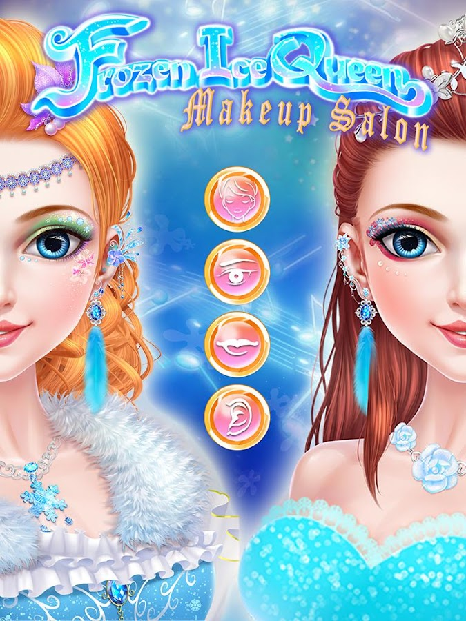 Frozen Ice Queen Makeup Salon- screenshot