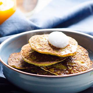 5 Ingredient Pumpkin Pancakes