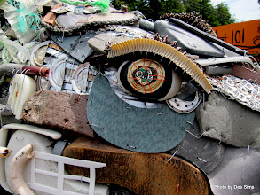 Photo: (Year 2) Day 354 - Sculptures from Sea Debris #3