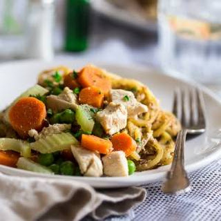 Healthy Chicken Pot Pie Potato Noodles {Gluten Free + High Protein}