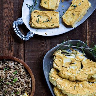 Hummus-Crusted Cauliflower Steaks