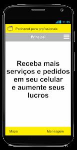 pednanet - profissional screenshot 1