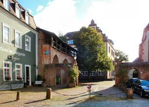 Photo: im Lustgarten von Ladenburg
