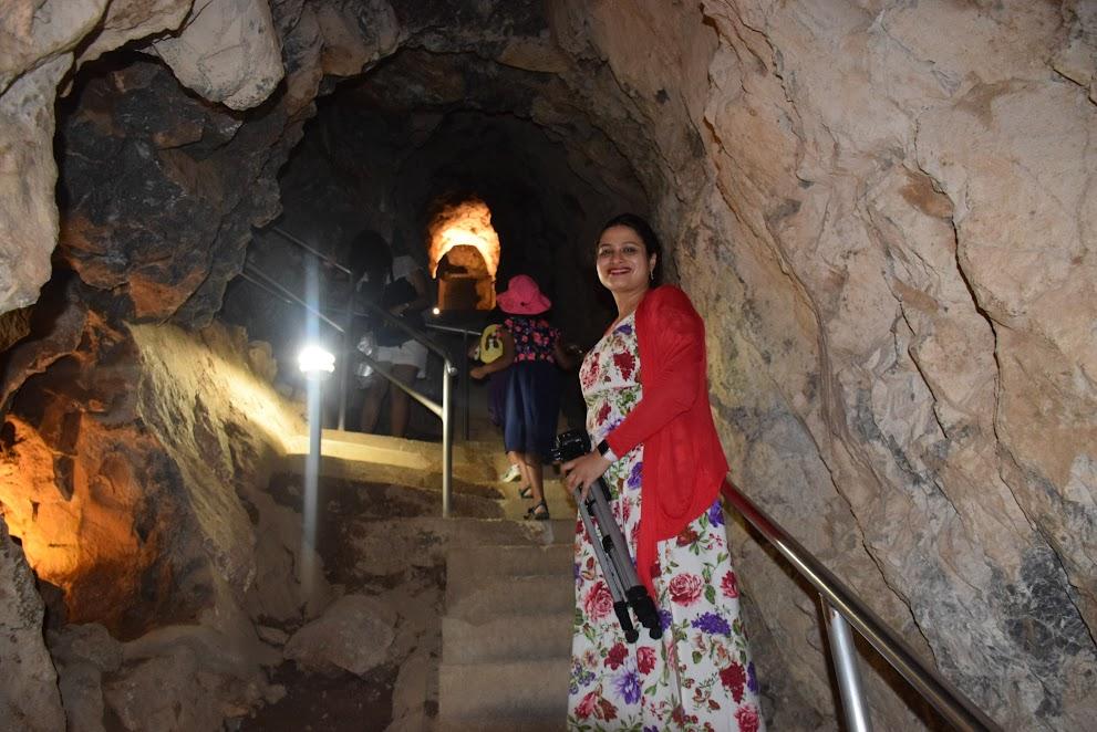 steps in caverns
