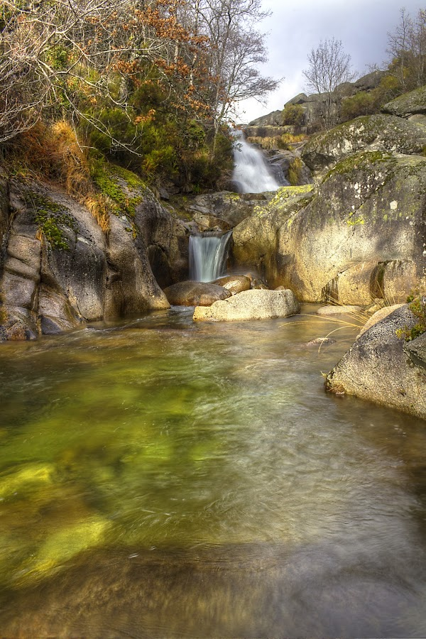 Cascades by Júlio Alves - Landscapes Mountains & Hills ( water, nature, waterfall, vila real, portugal, landscape )