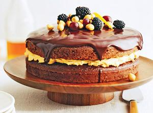Chocolate Harvest Cake Recipe