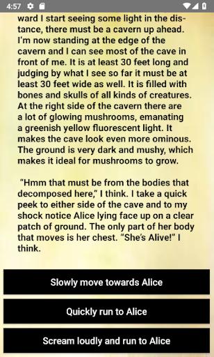 Derek Banter - Interactive text adventure RPG  captures d'écran 2