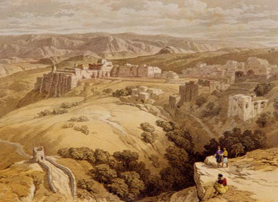 Painting of Ancient Bethlehem