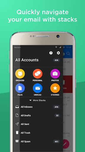 Email - Organized by Alto Screenshot