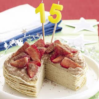 Mocha Crepe Cake.