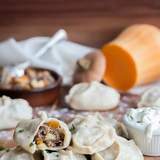 Uzbek Steamed Dumplings - Manti