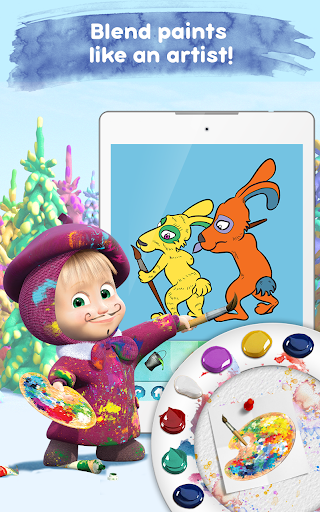 Masha and the Bear: Free Coloring Pages for Kids 1.0.3 screenshots 17