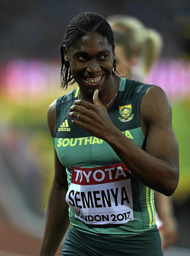 Homeground advantage: Caster Semenya will attempt to break the  35-year-old SA record for the 1,000m. Standing in her way will be two determined Ugandans. Picture: GETTY IMAGES