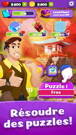 Télécharger Link Pets: Match 3 et jeu de puzzle APK MOD (Astuce) screenshots 4