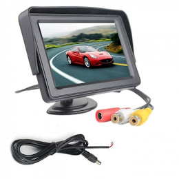 Monitor LCD TFT compatibil camera mers inapoi 4.3 inch