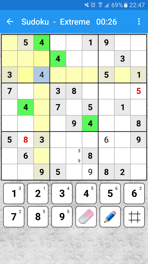 Sudoku Number Place- screenshot