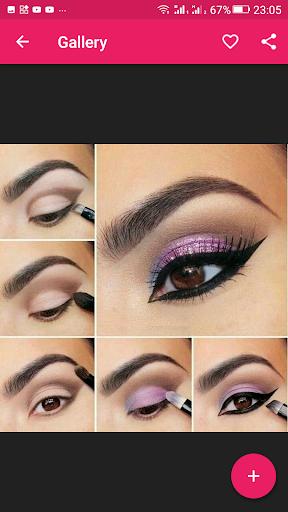 Step By Step Eyes Makeup Tutorial 2.3.09 screenshots 3