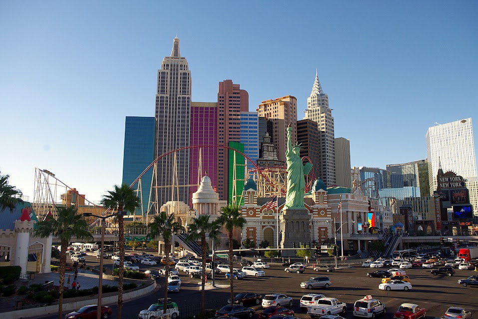 Las Vegas, hotel New York, New York
