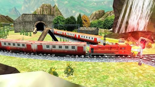 Real Indian Train Sim: Train games 2020 apkpoly screenshots 11