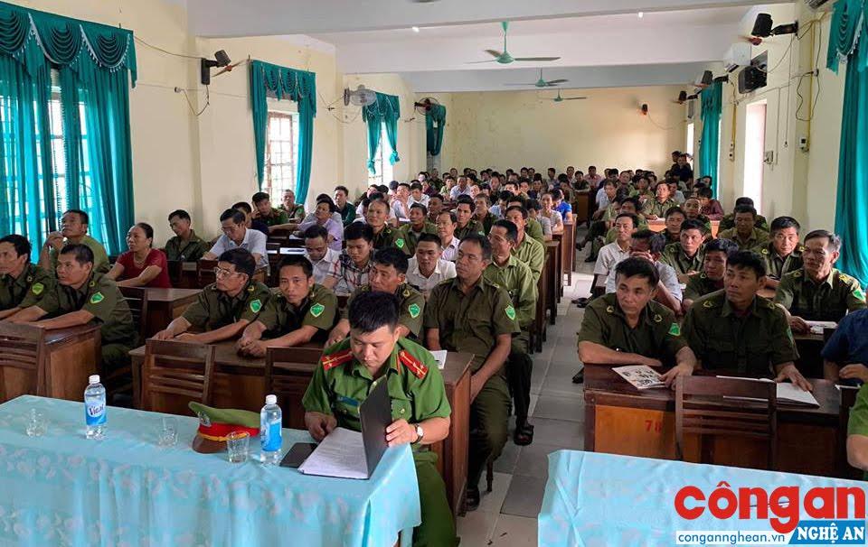 Tại buổi tập huấn PCCC