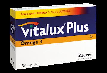 Vitalux Plus Omega3   Cápsulas Frasco X28Cap. Novartis Vitaminas