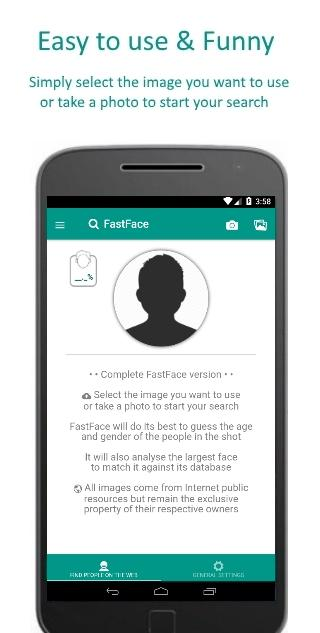 FastFace Screenshot 1