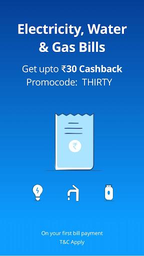 Mobile Recharge, UPI, Bill Payment, Money Transfer screenshot