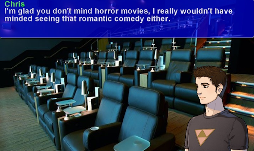 College Days - Choices Visual Novel Screenshot