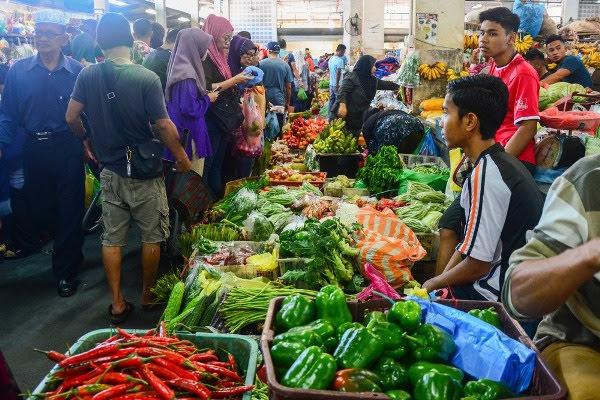 Mercado Central de Sandakan
