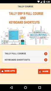Tally GST Course & Shortcut Keys - náhled